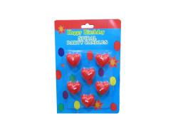 - Kalp Mum 6'lı Paket