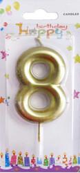 - Mum 8 Yaş Altın Pk:1 Kl:300