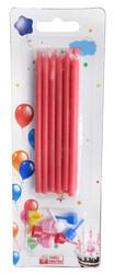 - Mum Pastel 10 Cm Kırmızı Pk:12 Kl:450