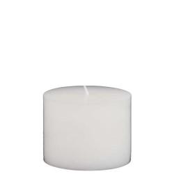 - Küçük Silindir Mum Beyaz (7x6 cm)