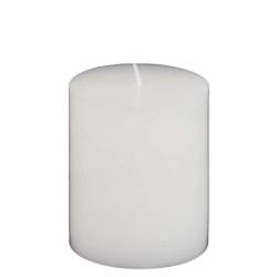 - Orta Silindir Mum Beyaz (7x10 cm)