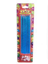 - Mavi Simli Mum (14 cm) 6'lı Paket