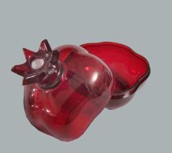- Nar Kutu Akrilik Plastik Kırmızı
