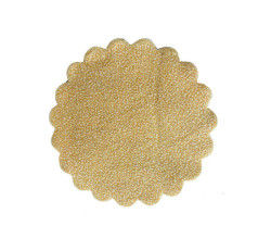 Organze Karlı 22cm Altın