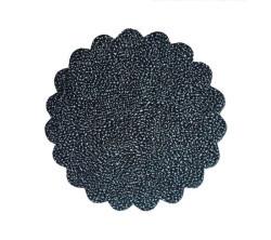 Organze Karlı 22cm Siyah - Thumbnail