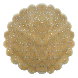 - Organze Taşlı 22 Cm Altın P100-100