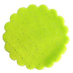 - Organze Taşlı 22 Cm Su Yeşili
