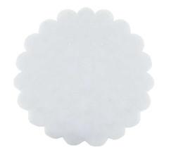 - Organze Taşlı Beyaz 26 cm
