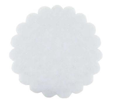 Organze Taşlı Beyaz 26 cm