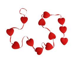 - Orta Süs Kalp Sarkık 12 Li Pk1 Set- Kl240