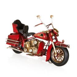 - Özel Tasarım Kırmızı Cooper Motosiklet