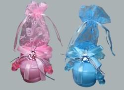 - Pabuç Plastik Keseli Mavi