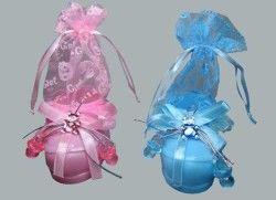 Pabuç Plastik Keseli Mavi