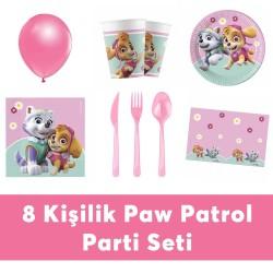 - Paw Patrol Doğum Günü Seti Eko Set 8 Kişilik