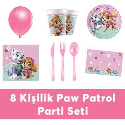 Paw Patrol Doğum Günü Seti Eko Set 8 Kişilik