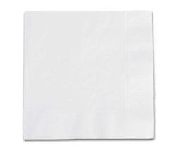 - Desenli Beyaz Peçete (33x33 cm) 20'li Paket