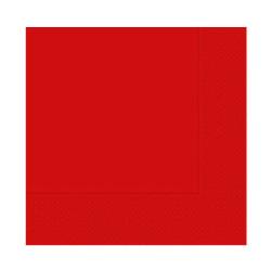 - Desenli Kırmızı Peçete