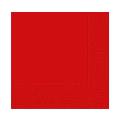 Desenli Kırmızı Peçete
