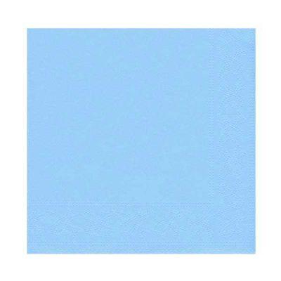 Desenli Mavi Peçete (33x33 cm) 20'li Paket