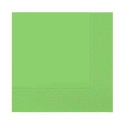 - Desenli Yeşil Peçete (33x33 cm) 20'li Paket