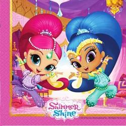 - Peçete Kağıt Shimmer And Shine (ışıltı Ve Parıltı) 33x33 Cm Pk:20 Kl30