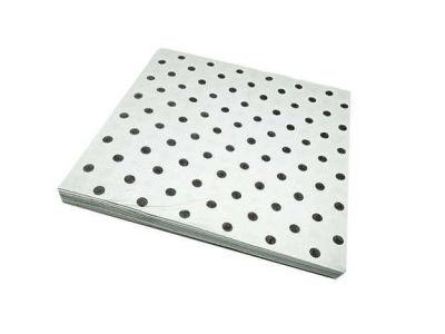 Gümüş Puantiyeli Beyaz Peçete (33x33 cm) 20'li Paket