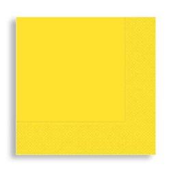 - Peçete Sarı 33x33cm Pk:16 Kl:24