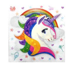 - Unicorn Kağıt Peçete (33x33 cm) 20'li Paket