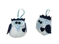 - Baykuş Mavi Peluş (001)