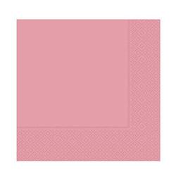 - Pembe Kağıt Peçete (33x33 cm) 20'li Paket