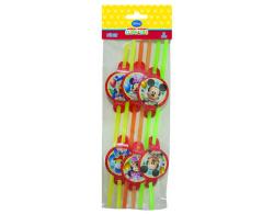 - Mickey Playful Pipet 6'lı Paket