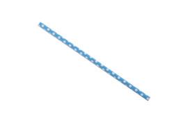 - Puantiyeli Mavi Karton Pipet 25'li Paket