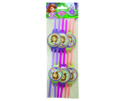 - Sofia The First Pipet 6'lı Paket