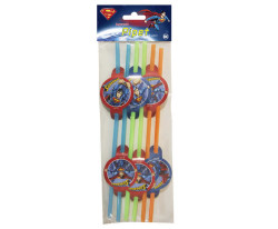 - Superman Pipet 6'lı Paket