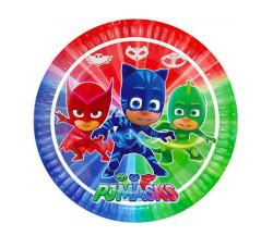 - PJ Masks Tabak (23 cm) 8'li Paket