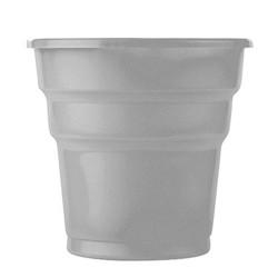 - Gümüş Plastik Meşrubat Bardağı (180 cc) 25'li Paket