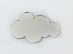 - Pleksi Figür 1mm Yapışkanlı 3x2 Cm Bulut Gümüş P25