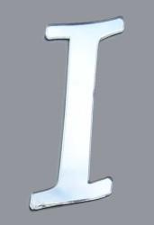 - Yapışkanlı Pleksi Harf 1mm 4x4 cm Gümüş I