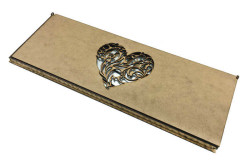 Düğünümüze Hoşgeldiniz Pleksi Masa İsimliği Gümüş - Thumbnail