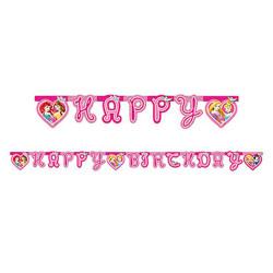 - Prenses Düşler Happy Birthday Harf Afiş