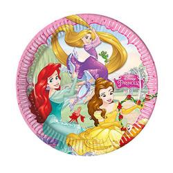 - Prenses Düşler Kağıt Tabak (23 cm) 8'li Paket
