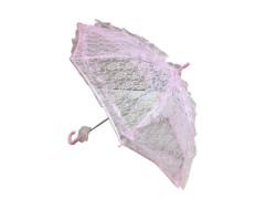 - Şemsiye Dantel İşlemeli Pembe