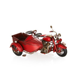 Sepetli Chopper Metal Sepetli Motosiklet - Thumbnail
