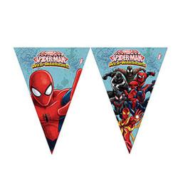 - Spiderman Savaşçı Bayrak Afiş