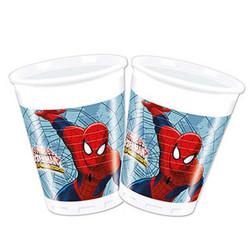 - Spiderman Savaşçı Plastik Bardak (200 cc) 8'li Paket