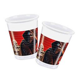 - Star Wars Güç Uyanıyor Plastik Bardak (200 cc) 8'li Paket