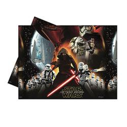 - Star Wars Güç Uyanıyor Plastik Masa Örtüsü (120x180 cm) 1'li Paket