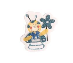 - Arı Mavi Sticker