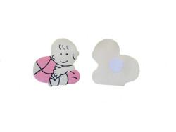 Bebek Pembe Sticker - Thumbnail