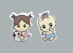 - Bebek Pembe Sticker